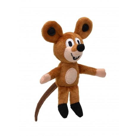 Maňásek Myška - prstový, 12 cm