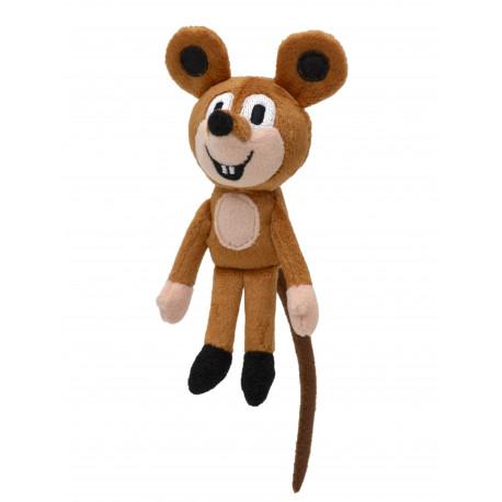 Myška (krteček) plyšová - 14 cm