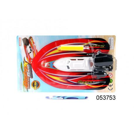 Lodička na baterie - nafukovací