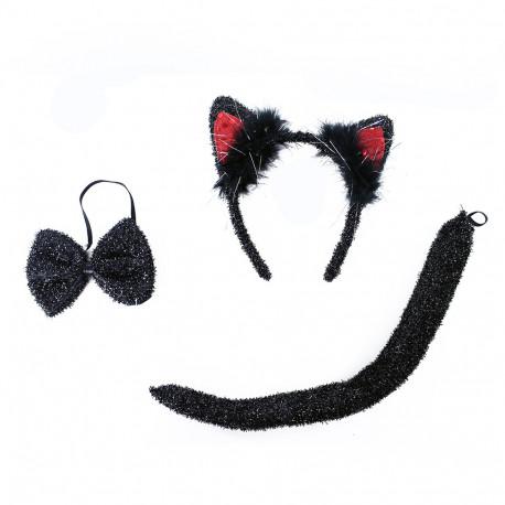 Sada kočka - třpytivá