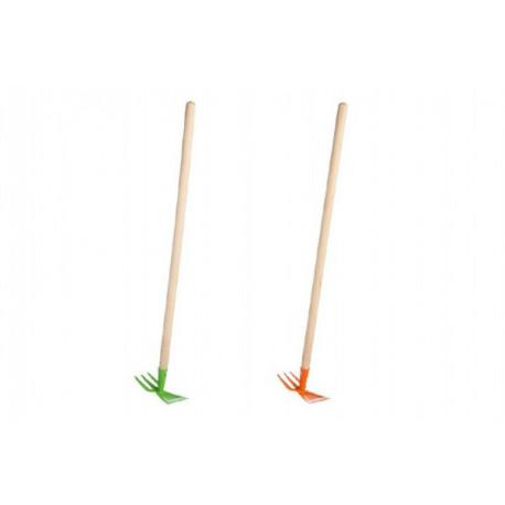 Motyka kov/dřevo 80cm asst 2 barvy nářadí