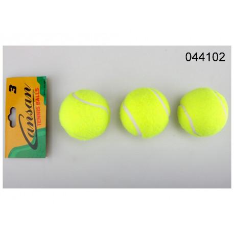 Tenisové míčky - 3 kusy, v sáčku