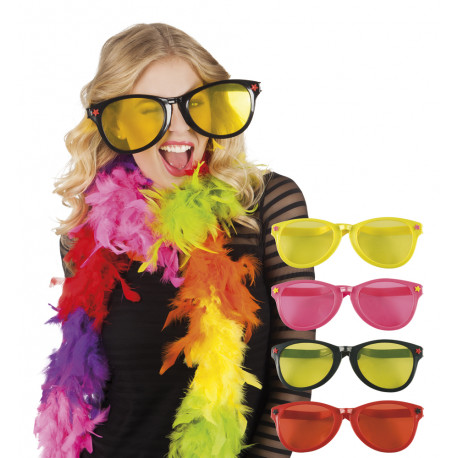 Brýle Jumbo - plastové, barevné