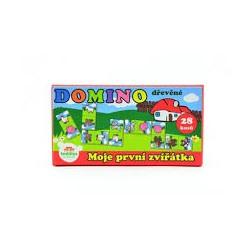 Domino dřevěné - moje první zvířátka