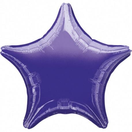 Fóliový balónek - Hvězda Purple/fialová
