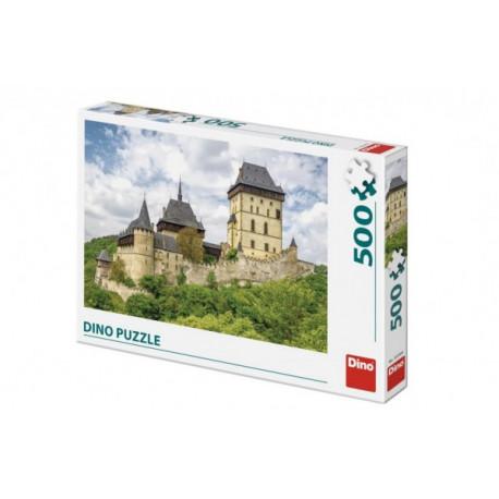 Puzzle hrad Karlštejn 47x33cm 500 dílků v krabici