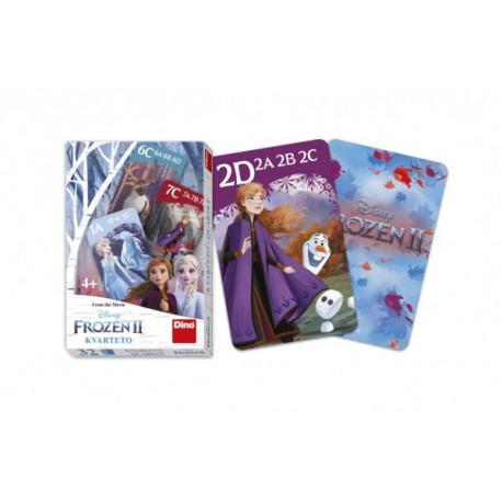 Kvarteto společenská hra Ledové království II