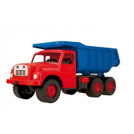 Auto Tatra 148 plast 73cm v krabici - červená kabina