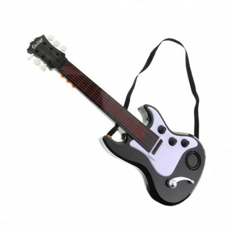 Kytara elektronická - světlo, zvuk