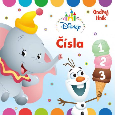 Knížka - Čísla (Disney)