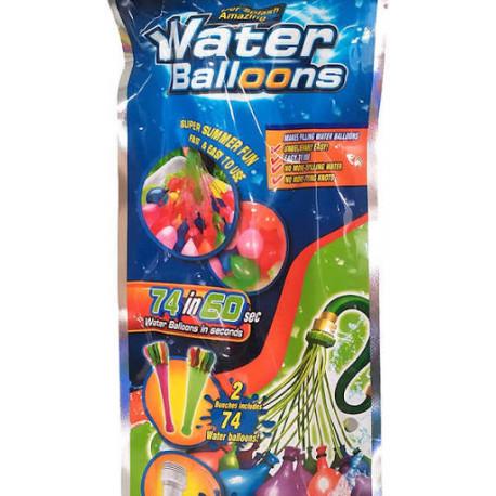 Vodní bomby/Vodní balonky - 74 kusů
