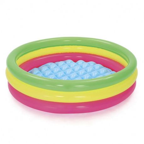 Nafukovací bazén - duhový, 102 cm