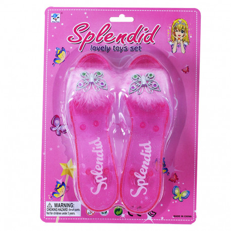 Střevíčky princezna - růžové