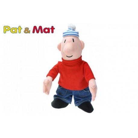 Postavička MAT plyšová 35cm (Ze série PAT a MAT)