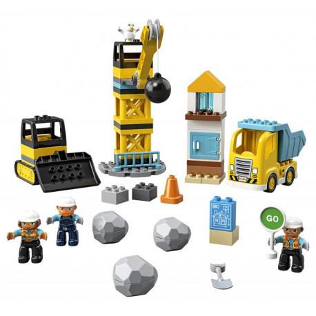Lego Duplo - Demolice na staveništi