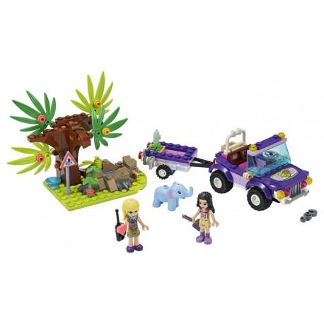 Lego Friends - Záchrana slůněte v džungli