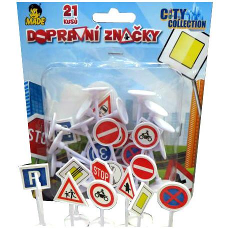 Dopravní značky - plastové
