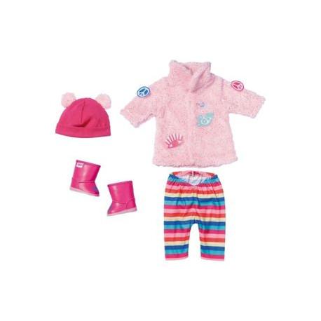 Baby Born - Zimní souprava s kožíškem Deluxe