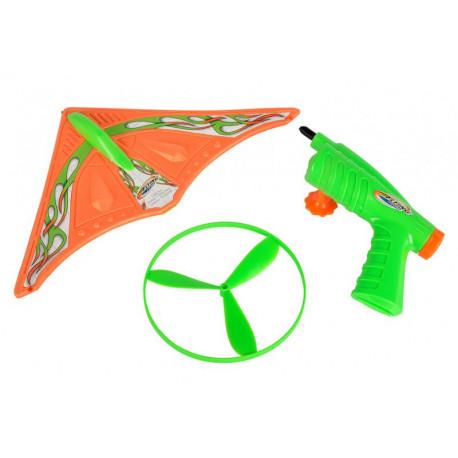 Kluzák s vystřelovačem