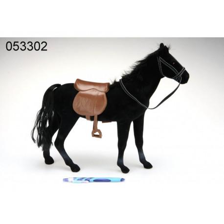 Kůň Fliska - černý,  45 cm
