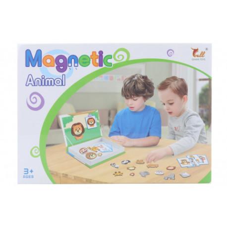 Magnetická kniha/stavebnice - Zvířátka