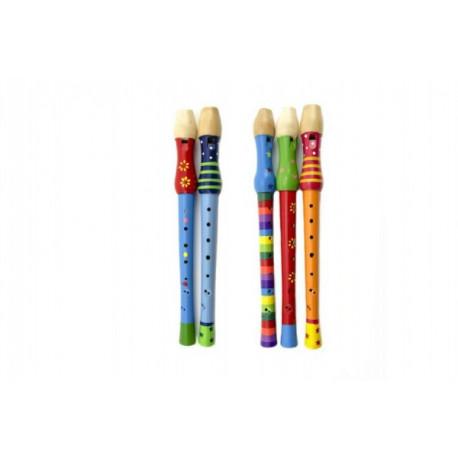 Flétna malovaná - dřevěná