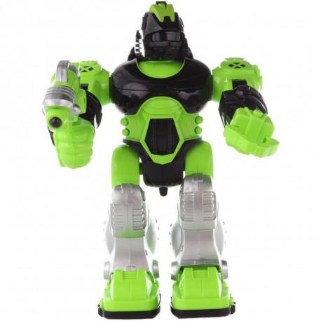 Robot na baterie - zelený