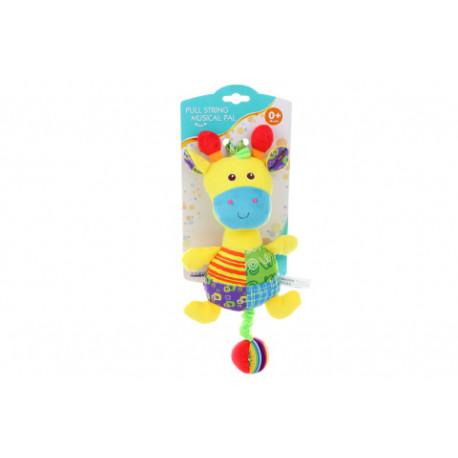 Parkfield - Hrací Žirafa,  plyšová