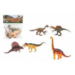 Dinosaurus v sáčku - 16-18 cm, 5 kusů v sáčku