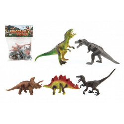 Dinosauři 15-18 cm, 5 kusů v sáčku