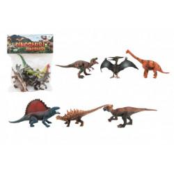 Dinosauři 14-19 cm, 6 kusů v sáčku