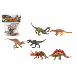Dinosauři - 15-16 cm, 6 kusů v sáčku
