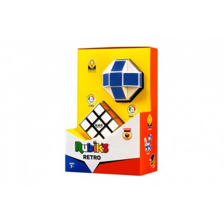 Rubikova kostka 3x3 + Had - retro sada