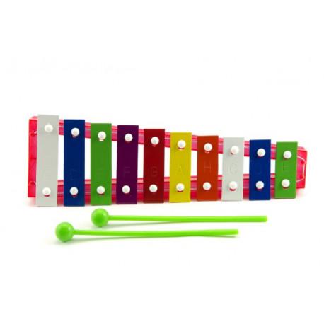 Xylofon - kov, plast