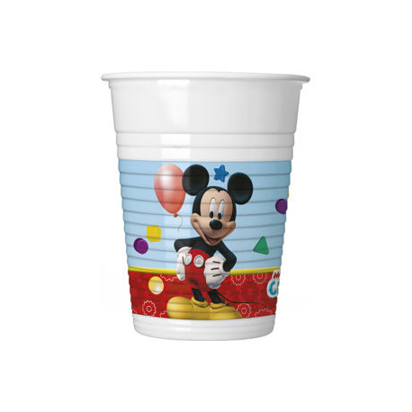 Kelímky MICKEY MOUSE - plastikové, 200ml