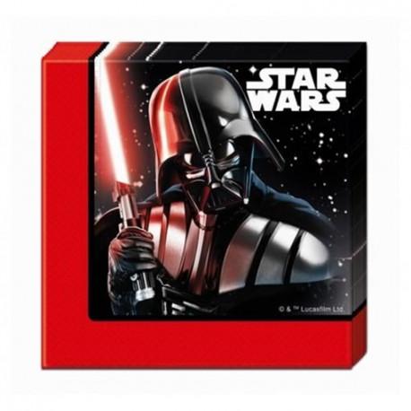 Ubrousky Star Wars - papírové, 20 kusů