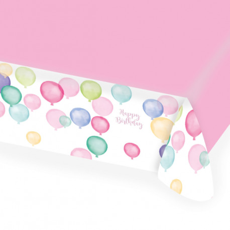 Ubrus balónky - papírový