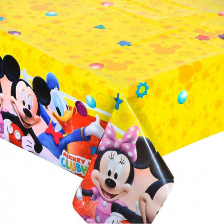 Ubrus Mickeyho klubík - igelitový