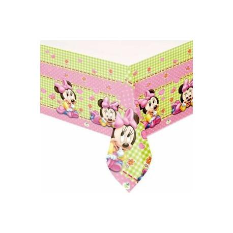 Ubrus baby Minnie - igelitový