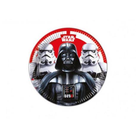 Talířky Star Wars - papírové, 8 kusů