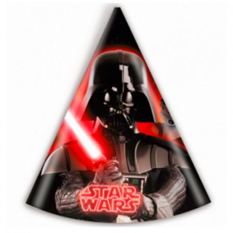 Party čepičky Star Wars - papírové, 6 kusů