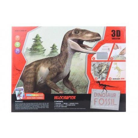 Archeologické nálezy/Tesání - Velociraptor