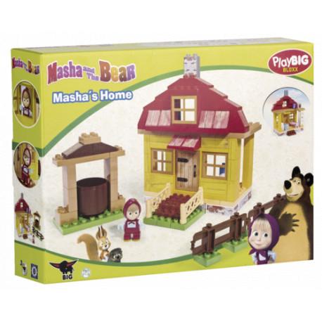 PlayBig bloxx - Máša a medvěd, Dům Máši