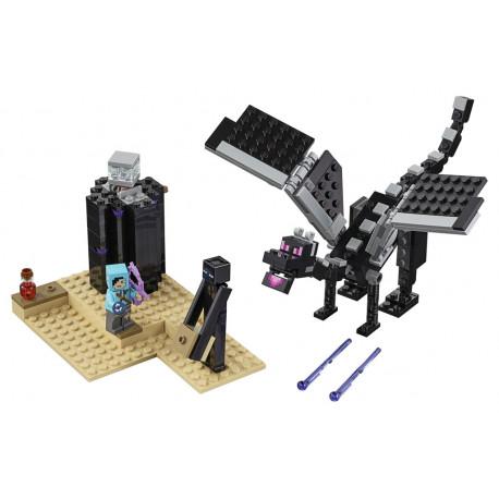 Lego Minecraft - Souboj ve světě End
