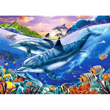 Puzzle Delfíni - 3000 dílků