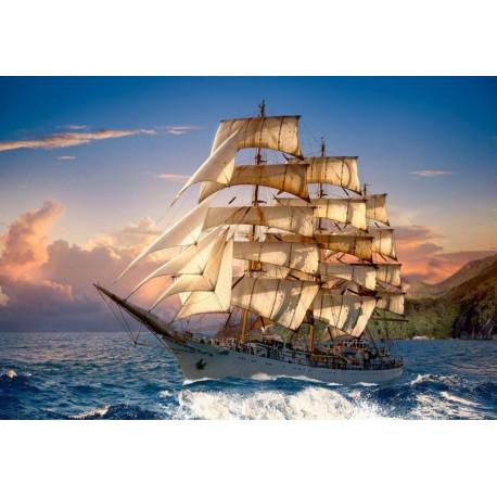 Puzzle Sailing at Sunset (plachetnice) - 1500 dílků