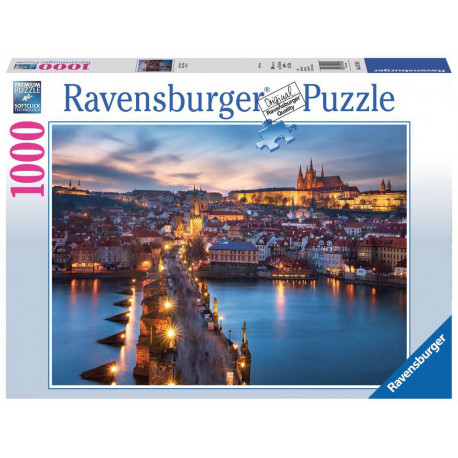 Puzzle Praha v noci - 1000 dílků