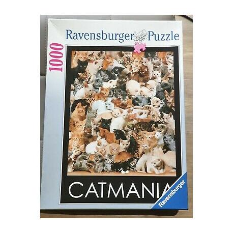 Puzzle Catmania - 1000 dílků