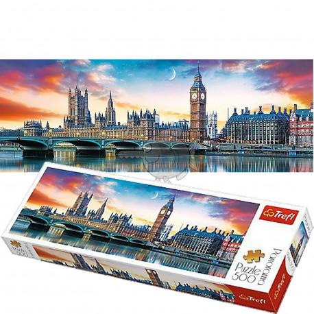 Puzzle Vestminsterský palác - 500 dílků, Panorama