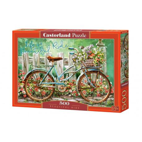 Puzzle Bautiful ride/Jízdní kolo - 500 dílků